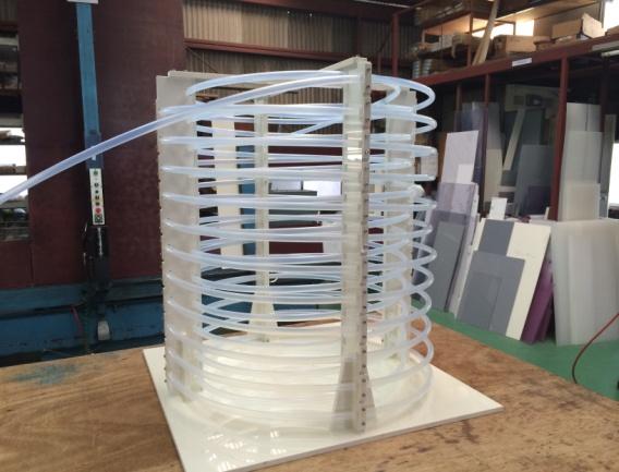 PFAチューブ製冷却コイル