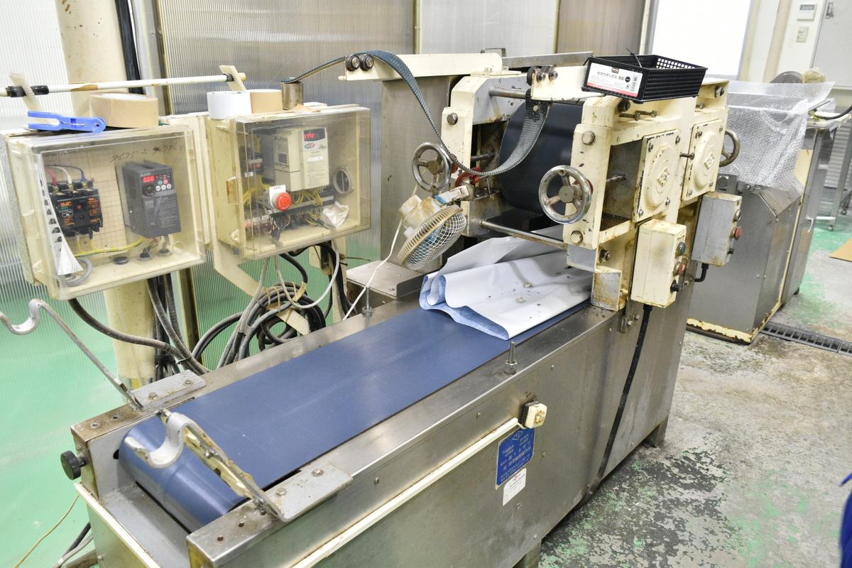今回対応した製麺機