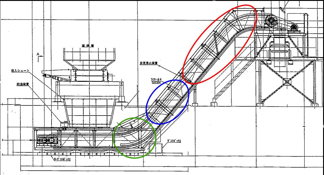 作業した箇所を示す図面